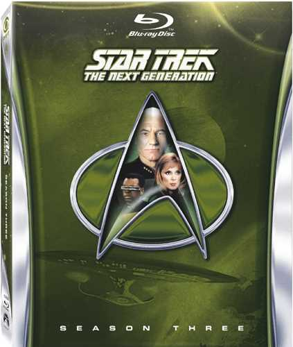 新品北米版Blu-ray!【新スター・トレック シーズン3】 Star Trek: The Next Generation - Season Three [Blu-ray]!