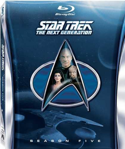 新品北米版Blu-ray!【新スター・トレック シーズン5】 Star Trek: The Next Generation - Season Five [Blu-ray]!
