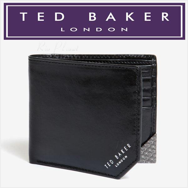 テッド ベーカー メンズ 財布 二つ折り 小銭入れ付き TED BAKER