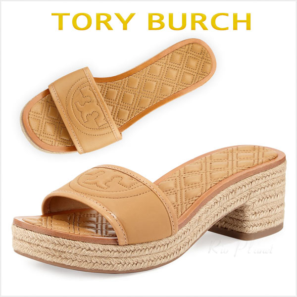 トリーバーチ サンダル  レディース コンフォート エスパドリーユ 歩きやすい 靴  FLEMING 楽天 Tory Burch 正規品