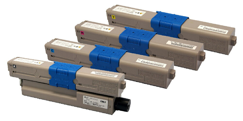 OKI TNR-C4H(K/C/M/Y)1(4色セット)リサイクルトナー【送料無料】【リターン再生商品】【RCP】