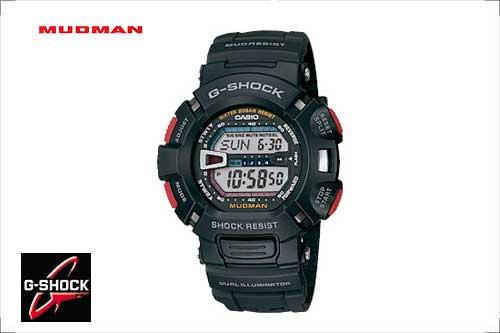 カシオ G-SHOCK【マッドマン「MASTER of G」】G-9000-1JF