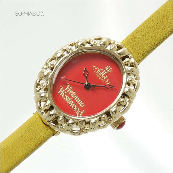 ヴィヴィアン ウエストウッド VV005RDYL VIVIENNE WESTWOOD 腕時計 [ST] 【長期保証3年付】