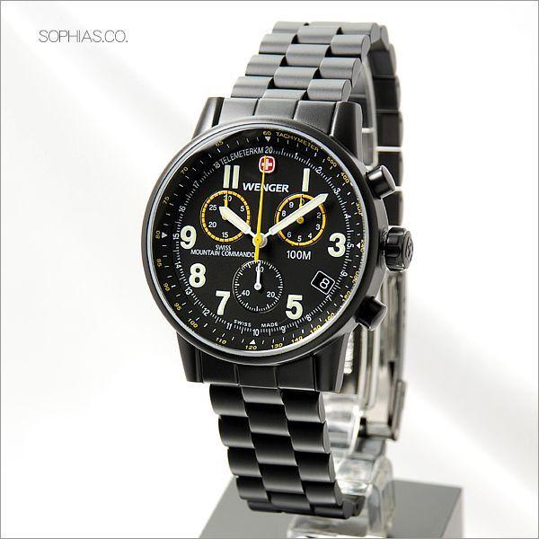 ウェンガー 腕時計 70705XL 海外モデル COMMANDO コマンド クロノグラフ メタル メンズ [SB] 【長期保証3年付】