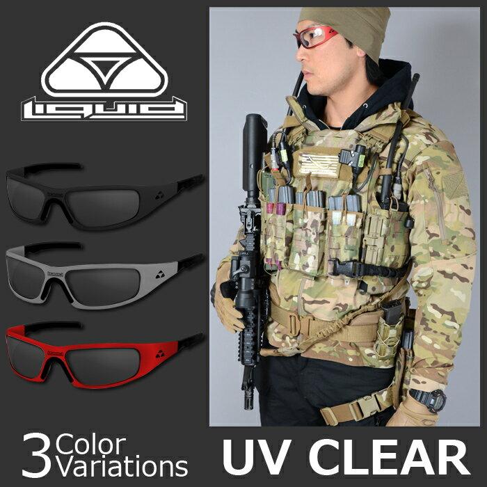 Liquid Eyewear(リキッド アイウエア) Gasket ガスケット UV CLEAR クリアレンズ サングラス