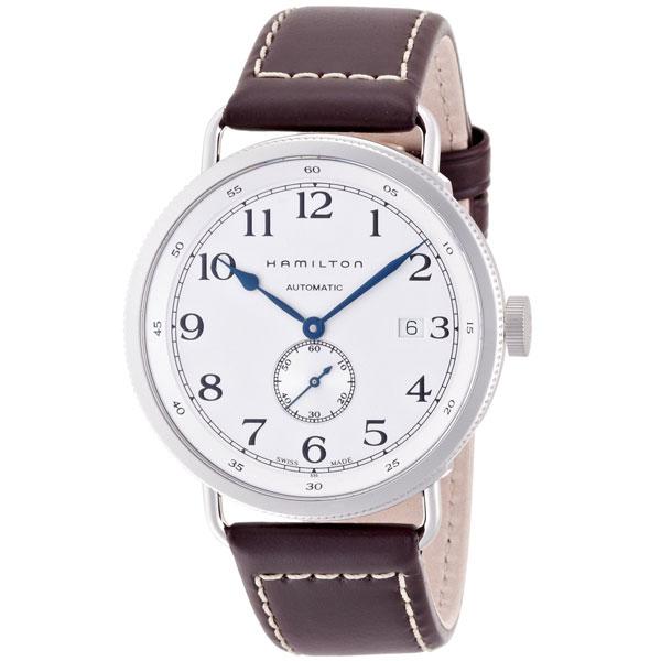 送料無料 HAMILTON ハミルトン 腕時計 カーキKHAKI ネイビーパイオニア40mm 自動巻き H78465553 国内正規品 メンズ 防水 皮ベルト ブラウン 機械式自動巻 ギフト 誕生日 プレゼント