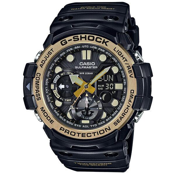 G-SHOCK ジーショック 腕時計マスターオブGシリーズ「ヴィンテージブラック&ゴールド」モデル GN-1000GB-1AJF  国内正規品 メンズ