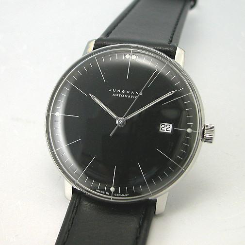 マックス・ビルBYユンハンス JUNGHANS 自動巻腕時計027 4701 00 国内正規品
