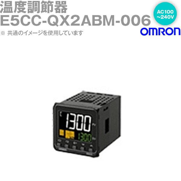 オムロン OMRON E5CC-QX2ABM-006 温度調節器 AC100-240V プッシュインPlus端子台 プッシュインPlus端子台タイプ E5CC-Bシリーズ NN