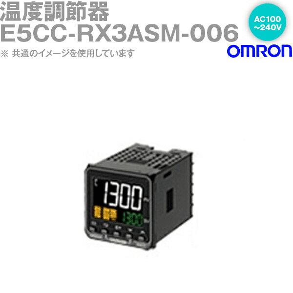 オムロン OMRON E5CC-RX3ASM-006 温度調節器 AC100-240V ねじ端子台タイプ E5CCシリーズ NN