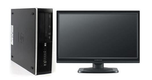 【新品1GBグラボ搭載 HDMI端子有】Office 2013付き/Windows7 Pro 64BIT搭載/HP Compaq 6000 Pro/Core2 Duo 2.93GHz/新品メモリ8GB/160GB/DVD/HDDリカバリ領域有り/20インチ液晶付き【中古パソコン】【即日発送】