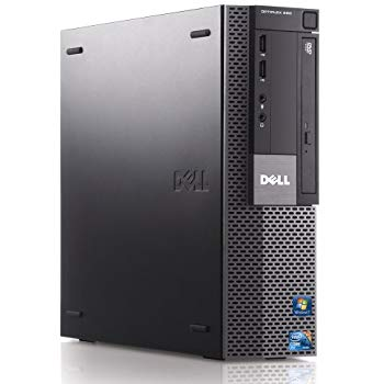 【新品1GBグラボ HDMI】Windows7 Pro 32BIT/DELL Optiplex 980 SFF/Core i5 3.20GHz/4GB/320GB/DVD/Office付/新品無線LAN付【中古パソコン】【デスクトップ】