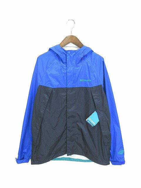 コロンビア Columbia ワバシュ ジャケット Wabash Jacket オムニテック加工 PM5990 ブルー系 XL 170710 メンズ 【中古】【ベクトル 古着】 170710 ブランド古着ベクトルプレミアム店