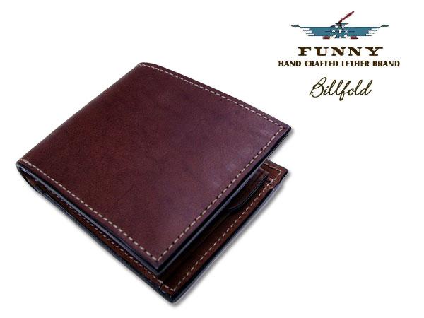 FUNNY/ファニービルフォード/本革2つ折り財布[ブラウン]プレゼント/ギフト03P01Mar15