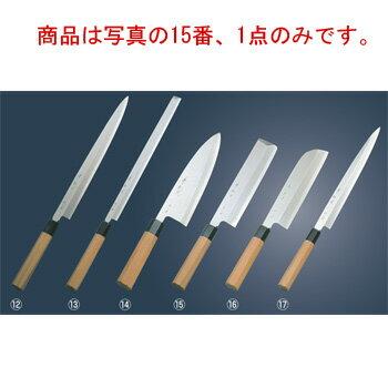 兼松作 銀三鋼 薄刃庖丁 16.5cm【包丁】【キッチンナイフ】【和包丁】