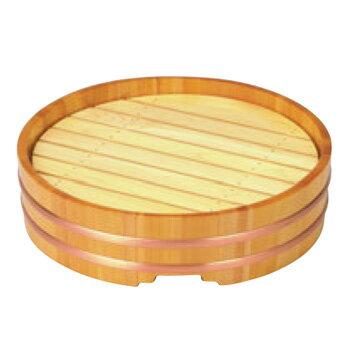 木製 丸桶盛込器 尺2(目皿付)7-660-3【盛皿】