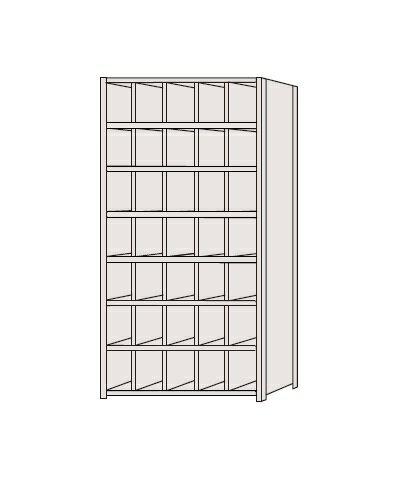 区分棚 フラットタイプ NCA111-507【代引き不可】