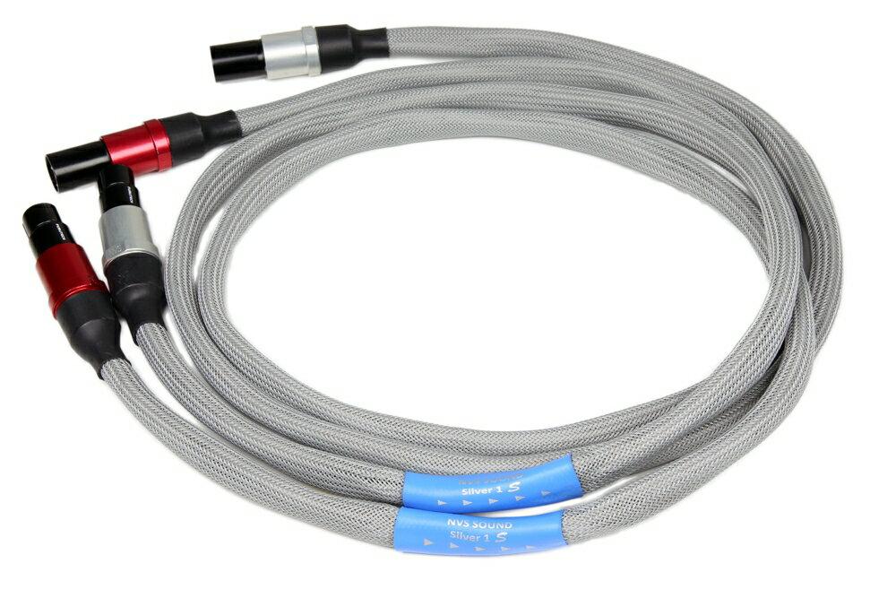 NVS Sound エヌブイエスサウンド Silver 1 S XLR 2.4m