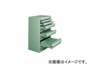 大阪製罐/OS 重量キャビネットDX型 最大積載量1500kg 引出し8段 DX1202