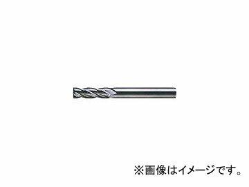 三菱マテリアル/MITSUBISHI 4枚刃超硬センタカットエンドミル(セミロング刃長) ノンコート 19mm C4JCD1900(6593313)