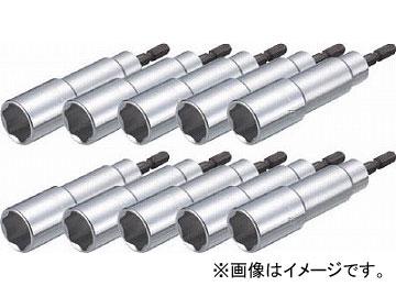 トラスコ中山 電動ドライバーソケット 17mm 10個入 TEF-17-10(4886666) JAN:4989999344332