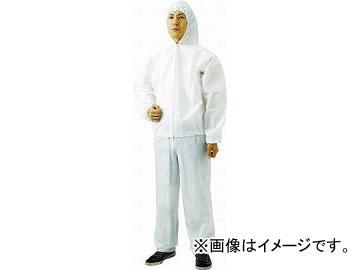 トラスコ中山 不織布使い捨て保護服フード付ジャンバー LL(60入) TPC-F-LL-60(4880188) JAN:4989999335859