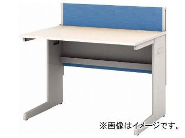 IRIS デスクパネル・コンセント付デスク幅1000mm ブルー CPD-1070-W-BL(7594089)