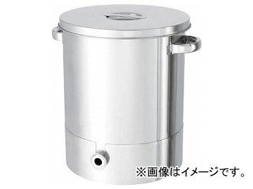 日東 ステンレスタンク片テーパー型汎用容器 200L KTT-ST-565H(7516118)