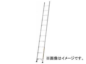 ハセガワ アルミ1連はしご プロ用 LA1型 6.18m LA1-62(7599595)