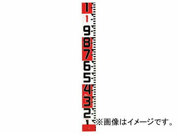 タジマ シムロンロッド-120 長さ20m/裏面仕様 1mアカシロ/紙函 SYR-20WK(8134660)