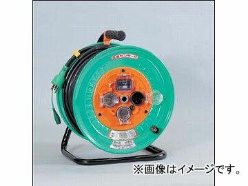 日動工業/NICHIDO 防雨・防塵型電工ドラム(屋外型) 100V 標準型30mタイプ アース付 EBタイプ NW-EB33 JAN:4937305013045