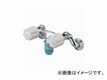 三栄水栓/SANEI U-MIX ツーバルブ洗濯機用混合栓 K1311TV-LH JAN:4973987621185