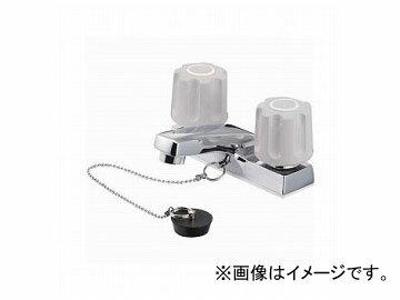 三栄水栓/SANEI U-MIX ツーバルブ洗面混合栓 寒冷地用 K51K-LH JAN:4973987621369