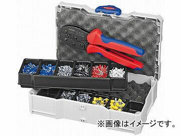 クニペックス/KNIPEX 圧着ペンチセット 品番:9790-23 JAN:4003773062158