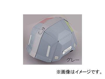 トーヨーセフティー/TOYO SAFETY 防災用 折りたたみヘルメット BLOOM II No.101 グレー 入数:40個