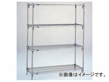アズワン/AS ONE スーパーアジャスタブルシェルフ標準セット A2460NCSET 品番:1-8481-02