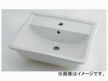 カクダイ 角型洗面器 1ホール 品番:#DU-0302560000 JAN:4972353051298