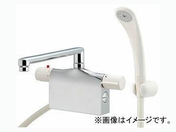 カクダイ サーモスタットシャワー混合栓(デッキタイプ) 品番:175-009 JAN:4972353053223