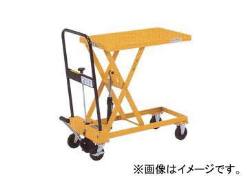 をくだ屋技研/O.P.K 手動式リフトテーブルキャデ 早揚り装置なし LT-H150-7S