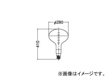 岩崎電気 アイ サンルクスエース60 660W 反射形 NHR660DL