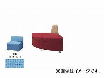 ナイキ/NAIKI Rコーナーチェアー ライトブルー ZRE42RC-LBL 690×690×590mm