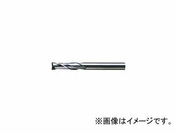 三菱マテリアル/MITSUBISHI 2枚刃超硬エンドミル(セミロング刃長) ノンコート 16mm C2JSD1600(6591256)