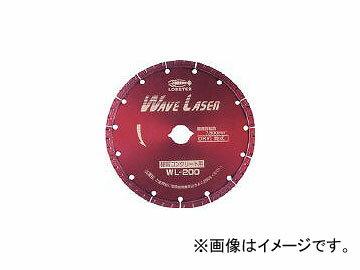 ロブテックス/LOBSTER ダイヤモンドホイール ウェブレーザー(乾式) 180mm WL180(2133610) JAN:4963202049481