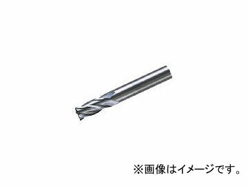 三菱マテリアル/MITSUBISHI 4枚刃超硬センタカットエンドミル(ミドル刃長) ノンコート 20mm C4MCD2000(6594182)