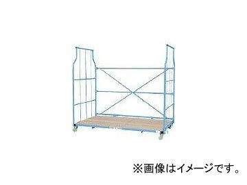 ワコーパレット/WAKO-PALLET エアーキャスター付ジャンボカーゴ 2010X1145X1850 WKJ2011(4677366)