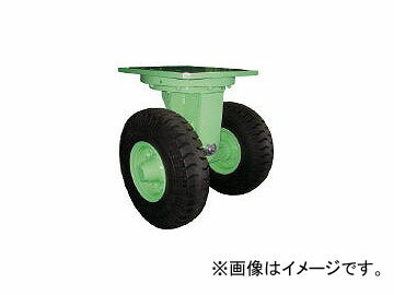 佐野車輛製作所/SANO 超重量級キャスター ダブル自在車 荷重6400kgタイプ 2846(4528981)