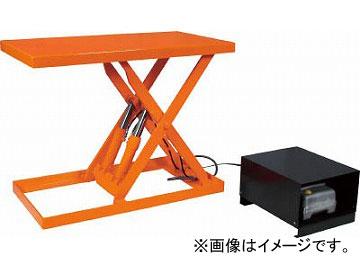 トラスコ中山 ピットレスローリフト150kg 電動式 900X300 超低床型 FL15-309(4642538) JAN:4989999672619