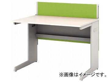 IRIS デスクパネル・コンセント付デスク幅1000mm グリーン CPD-1070-W-GN(7594097)