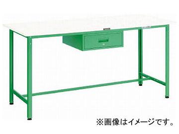 トラスコ中山 HAE型立作業台 1800X750XH900 1段引出付 W色 HAE-1800F1 W(7702051)