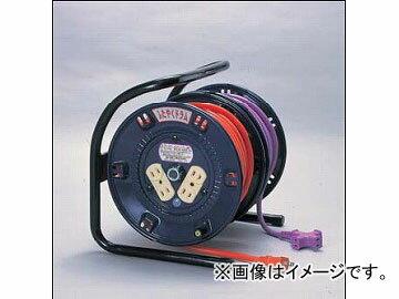日動工業/NICHIDO ふたやくシリーズ(屋内型) 100V 電工ドラム20m+延長コード17m アース無 FD-357 JAN:4937305007297
